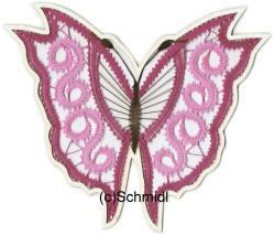 005 Brief Schmetterling