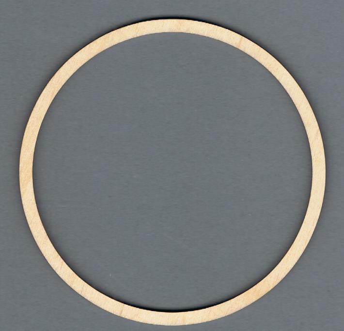 325 Holzrahmen Ring dm 12,2 cm - Klöppeln in Sachsen